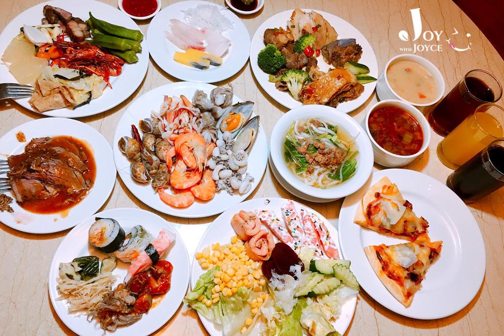 """[飯店。buffet] """"四季自助餐""""SEASON BUFFET 日式料理、海鮮吧、在地原住民料理吃到飽   (台東知本金聯世紀酒店。知本溪旁) ♥ JoyceWu。食記"""