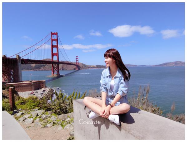 美國舊金山金門大橋Golden Gate Bridge+ 藍瓶瓶咖啡Blue Bottle Coffee 自由行必去景點推薦 含交通購票教學 ♥ 小Connie愛夢遊。遊記
