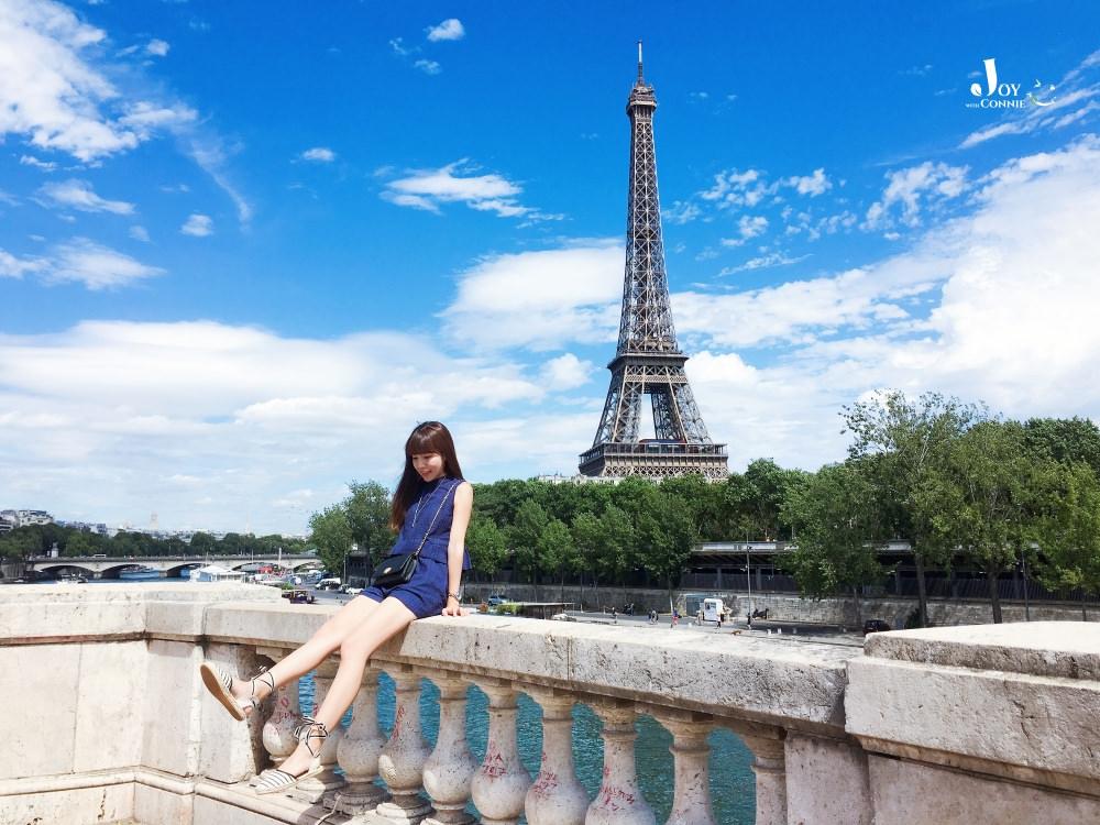 法國巴黎最著名景點推薦♥ 艾菲爾鐵塔「Eiffel Tower」取景攻略 內有交通資訊分享 ♥ 小Connie愛夢遊。遊記