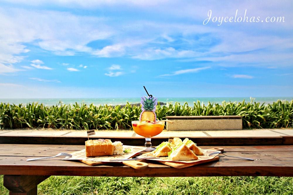 北海岸三芝。淺水灣景觀餐廳 ♥ Le coq cafe 公雞咖啡 ♥ 夢幻海景享美食 輕食 磚塊吐司 鍋物 寵物友善 ♥ Joyce食尚樂活。食記