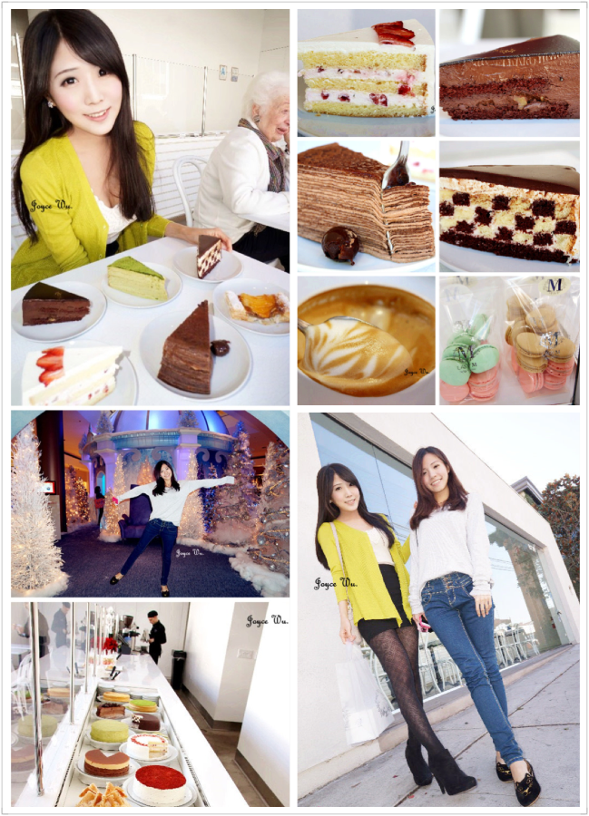 "[LA,California♥Restaurant] – 紐約超人氣♥ ""Lady M Cake Boutique""  精品蛋糕店 法式千層蛋糕 馬卡龍 下午茶 甜點 咖啡 (Beverly Grove) ♥ JoyceWu。食記"