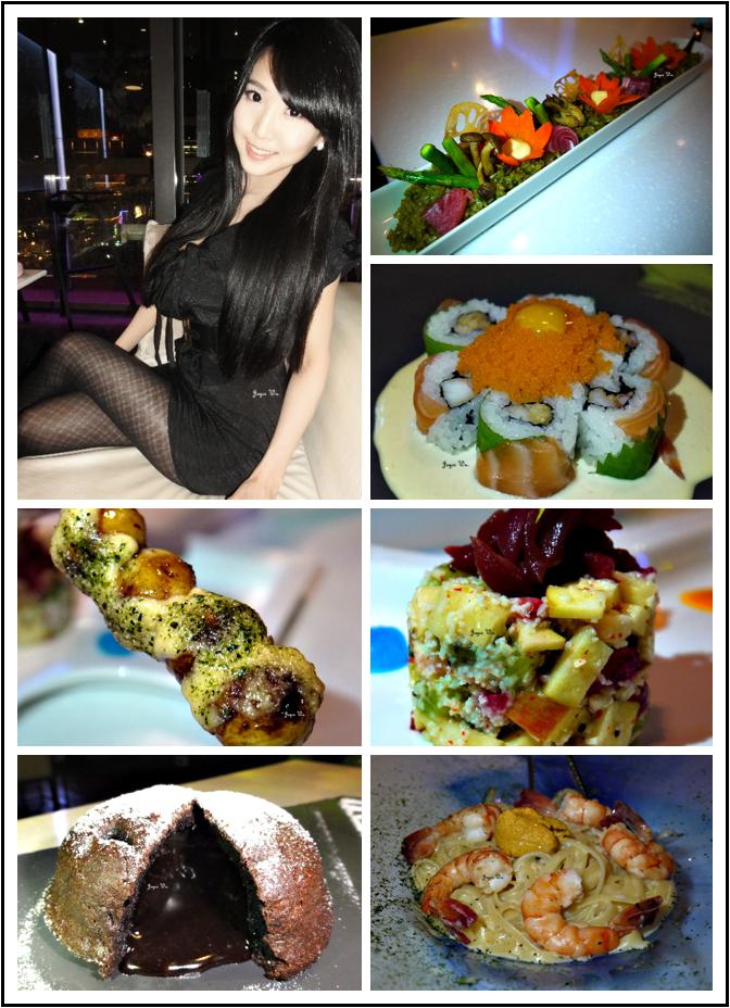 [日式] Stream Restaurant & Lounge♥河流系日式創意料理 分子料理 異國料理 時尚居酒屋 盆栽飯 分子調酒 101觀景餐廳 (信義/ATT4FUN) ♥ JoyceWu。食記
