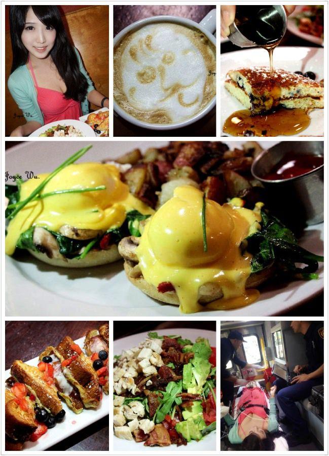 "[LA,California♥Restaurant] – 超人氣♥ ""Blu Jam Cafe"" 早午餐 漢堡 鬆餅 甜點 咖啡 可愛拉花 之排隊排到中暑上救護車 (West Hollywood/Melrose) ♥ JoyceWu。食記"
