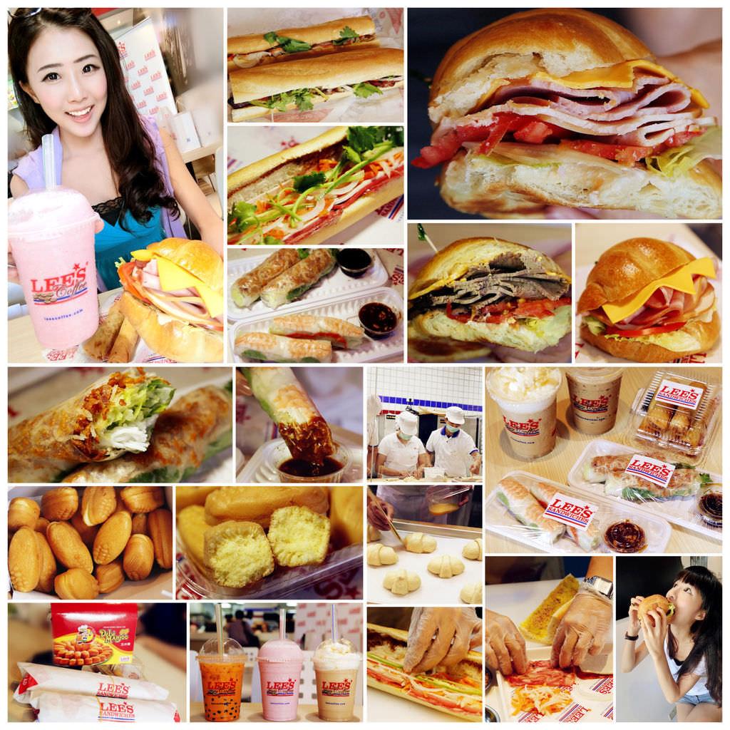 """[輕食。美式] 新開幕超人氣♥ """"Lee's Sandwiches Taiwan"""" ♥ 來自美國的法越混血三明治!首間海外店在台灣登場!  炸春捲 生春捲 咖啡 玉米燒  (HOYII和億北車站/台北車站商圈/壽德大樓) ♥ JoyceWu。食記"""