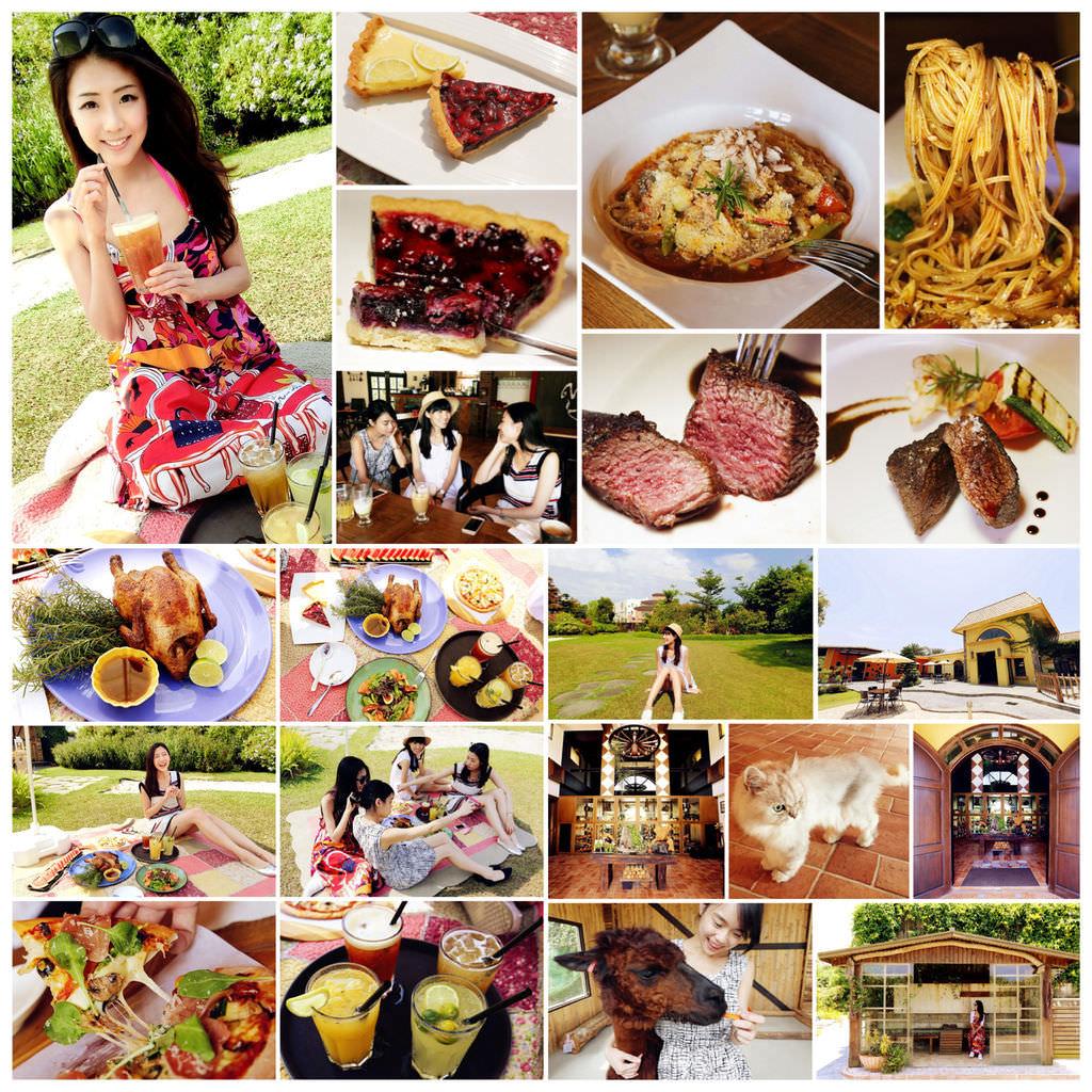"""[義法。農莊餐廳]  新開幕♥ """"第二花園"""