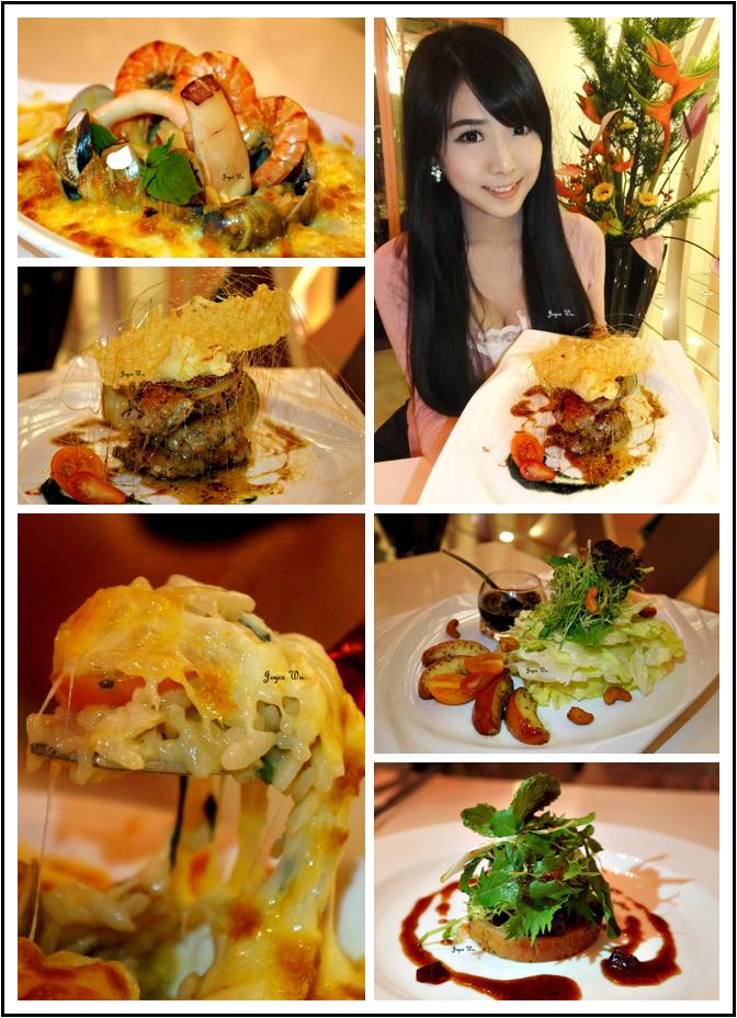 """[義式] """"Alice Cafe"""" 愛麗絲咖啡♥-夢幻晚餐篇 排餐 義大利麵 燉飯 生日&情人節好去處 101景觀餐廳(信義/松德站)♥ JoyceWu。食記"""